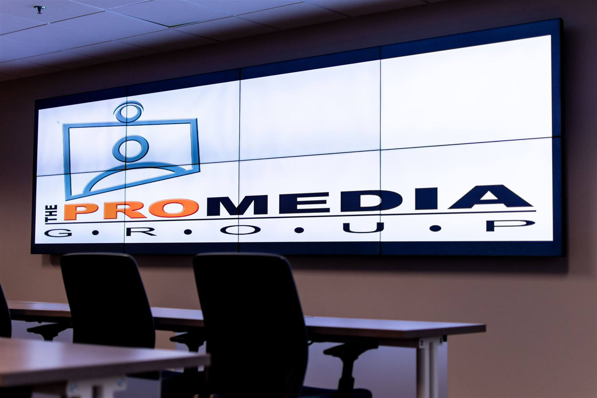 the promedia group video wall