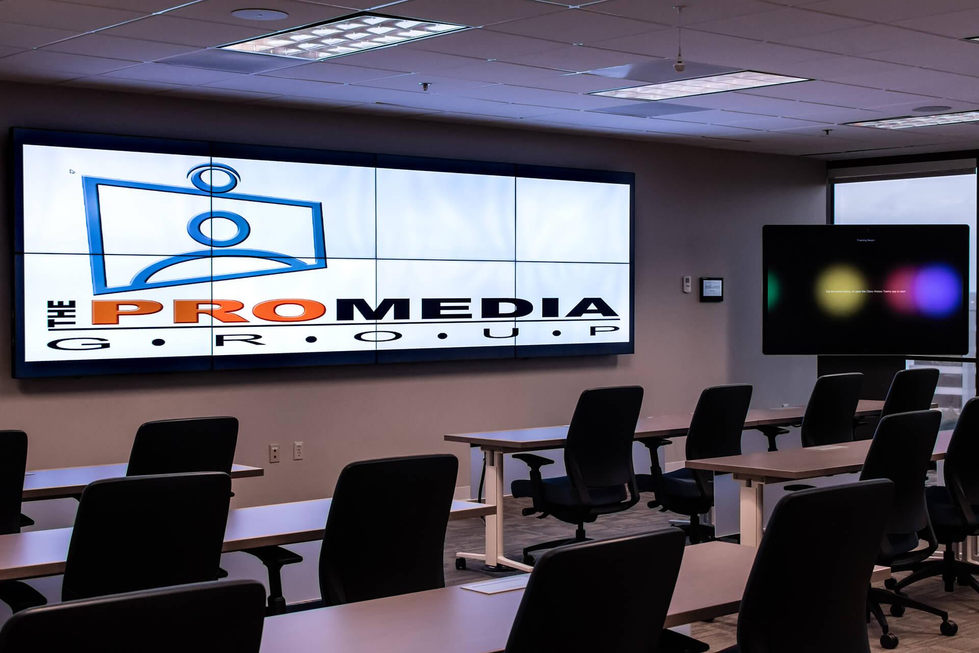 ProMedia Group video wall