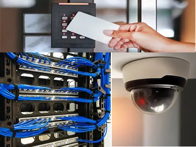 CCTV Structured Cabling Access control